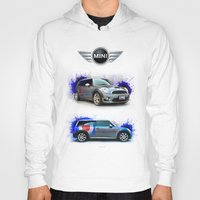 mini cooper Hoodies featuring Cars: Mini Cooper S by Urbex :: Siam