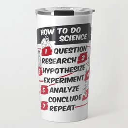 Scientific Method Travel Mug