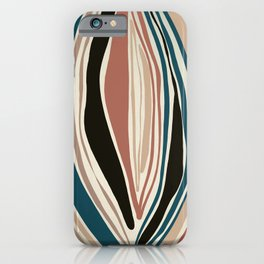 Inner Light - Abstract Art Print iPhone Case