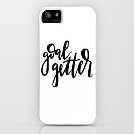 Goal Getter iPhone Case