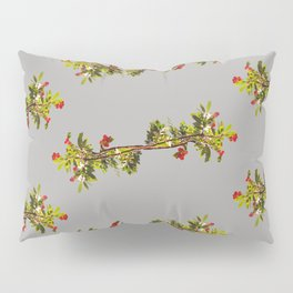 Madrone Pattern in Grey Pillow Sham