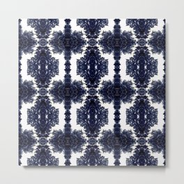 Tiles & Motifs - Porcelain Kitchen Tile Metal Print