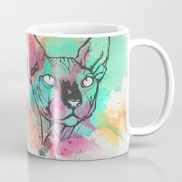 Watercolor Sphynx Coffee Mug