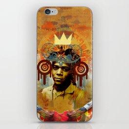 Art Deity: The Radiant Child Jean Michel Basquiat iPhone Skin