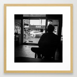 Late in the Day Framed Art Print