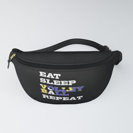 Volleyball T-shirt Gift Volleyball Player Fanny Pack