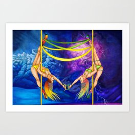 Pole Stars - GEMINI Art Print