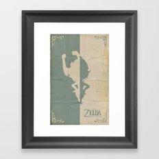 The Legend of Zelda: Twilight Princess Framed Art Print