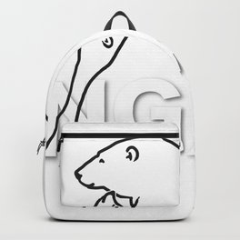 The Ungava Collection: The Polar Bear Family Backpack