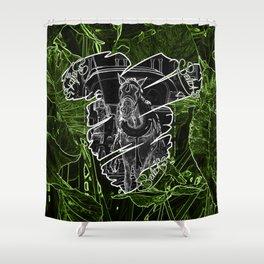 Sevillas V3 V All Over Print Shirts Shower Curtain