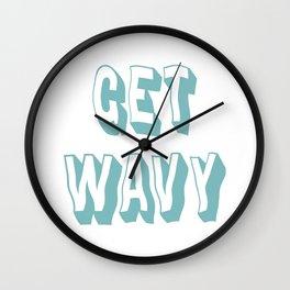 Get Wavy Wall Clock