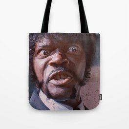 Great Vengeance And Furious Anger - Pulp Fiction Tote Bag
