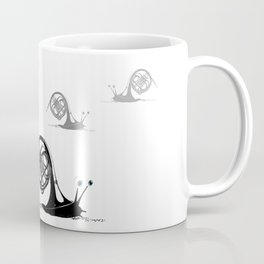 Just moved.  (French Horn) Coffee Mug