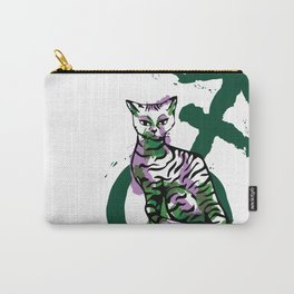 Androgyny Grabs Back Carry-All Pouch