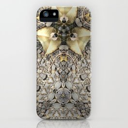 A Patterned Ground iPhone Case