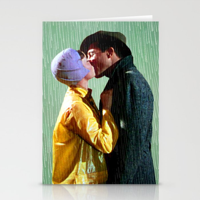 Singin' in the Rain - Green Stationery Cards