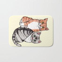 Two Cats Bath Mat