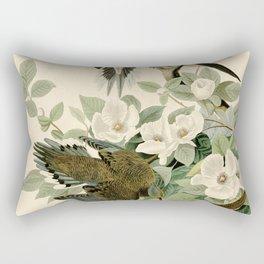Carolina Turtle Dove (Zenaida macroura) Rectangular Pillow