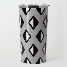Diamond Pattern Gray 961 Travel Mug