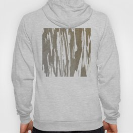 Abstract Taupe Splash Design Hoody