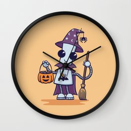 Ned's Halloween Witch Wall Clock