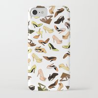 shoes iPhone & iPod Cases featuring Shoes by Jeanne Bornet