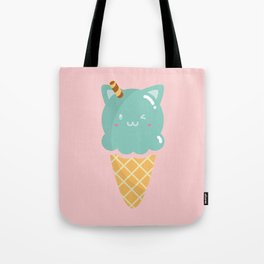 Mint Ice-cream Tote Bag