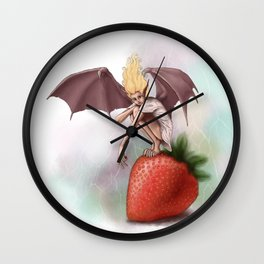 Monster of the Week: Twilight Fairy Wall Clock