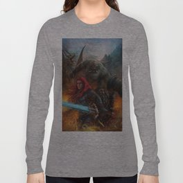 Nath Dragon and Brenwar Boulderguild Long Sleeve T-shirt