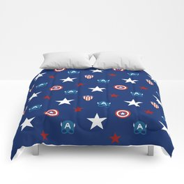 The Star Spangled Man With A Plan Comforters