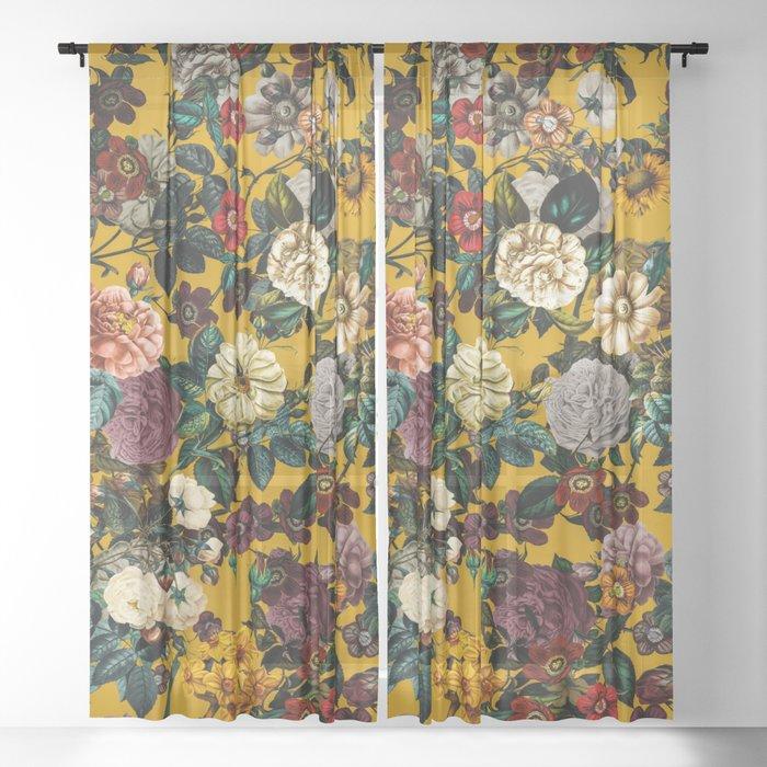 Exotic Garden V Sheer Curtain