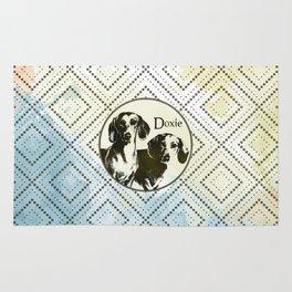 Dachshund dog  - Doxie Rug