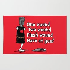 One Wound, Two Wound..... Rug