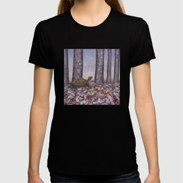 eastern box turtle in the forest T-shirt