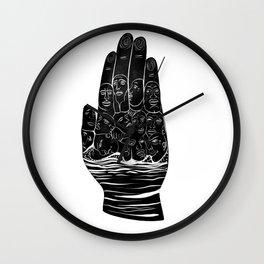 Palmist Wall Clock
