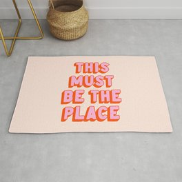 This Must Be The Place: The Peach Edition Rug
