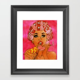Chillin Framed Art Print