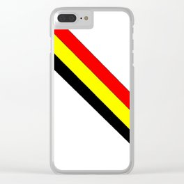 Flag of belgium 4 belgian,belge,belgique,bruxelles,Tintin,Simenon,Europe,Charleroi,Anvers,Maeterlinc Clear iPhone Case