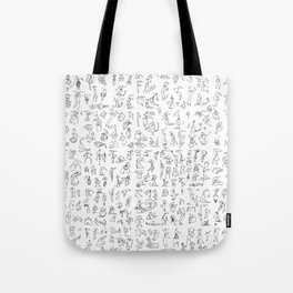Esserini Schizzati Tote Bag