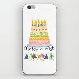 Happy Birthday to you! iPhone Skin