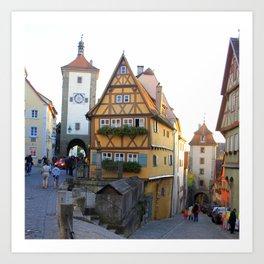 Rothenburg20150902 Art Print