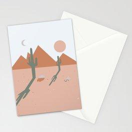 High Desert Shadows Stationery Cards