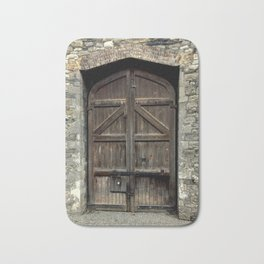 Old Wooden Door | Doors | Ireland | Kilmainham Gaol Door Bath Mat