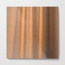 curtain 02 Metal Print