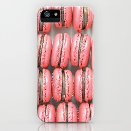 French macarons photograph iPhone Case