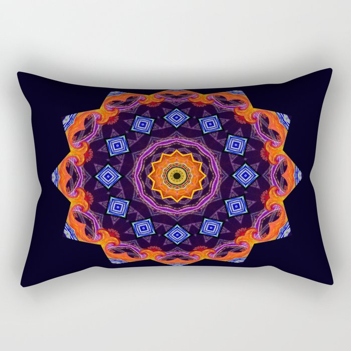 Complex Mandala Rectangular Pillow