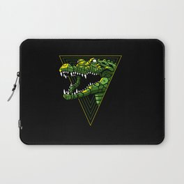 Cyber Crocodile Punk Laptop Sleeve