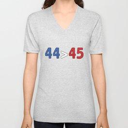 44 Turning 45 Unisex V-Neck