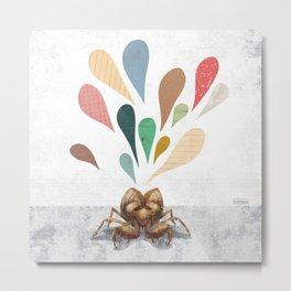 Cicada Containment Unit Metal Print