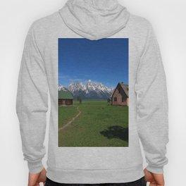 Moulton Homestead and Grand Teton Range Hoody